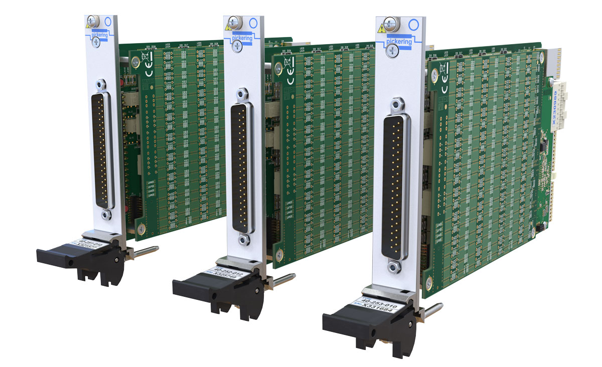 40-25x Range of PXI Programmable Resistor Modules