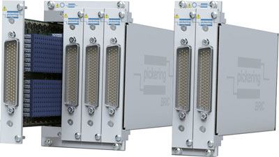 BRIC Ultra-High-Density Large PXI 1A Switch Matrix