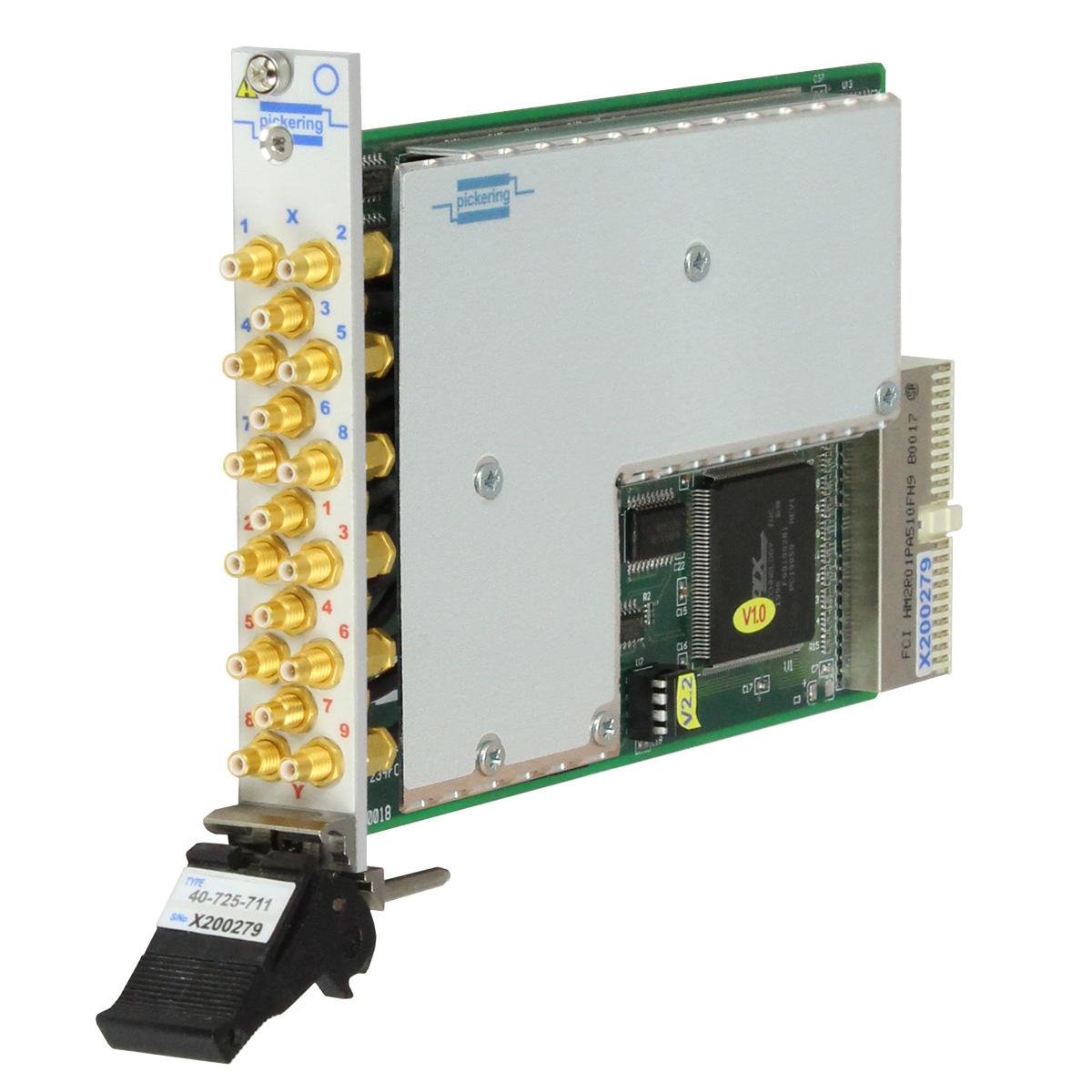 Pxi 8x9 Rf Matrix 500mhz 50ohm Smb 40 725 511 0 Pic16f876 Power Meter