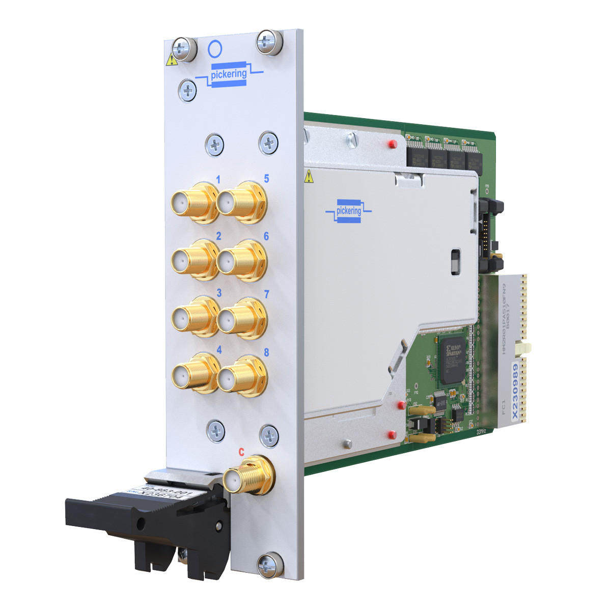 New Modular Switching Simulation Products Pickering Interfaces Software Suits Rf Circuit Design Applications 40 883a Pxi 8ghz Sp8t Matrix Module