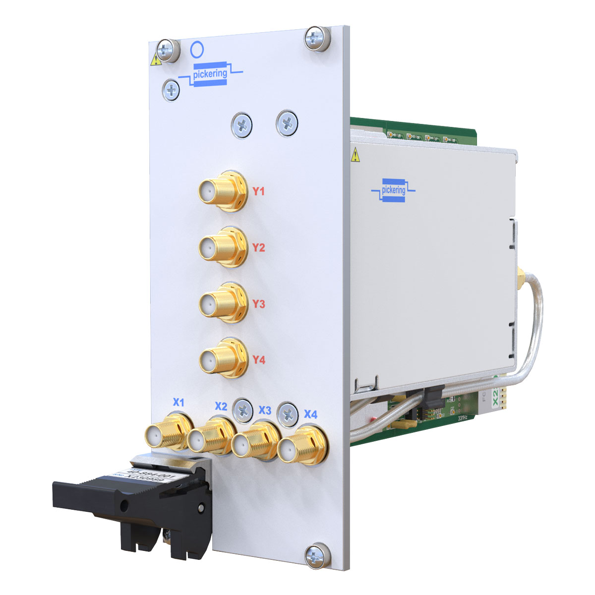 New Modular Switching Simulation Products Pickering Interfaces Relay Switch Lifetime 40 884a Pxi 8ghz 4x4 Rf Matrix Module