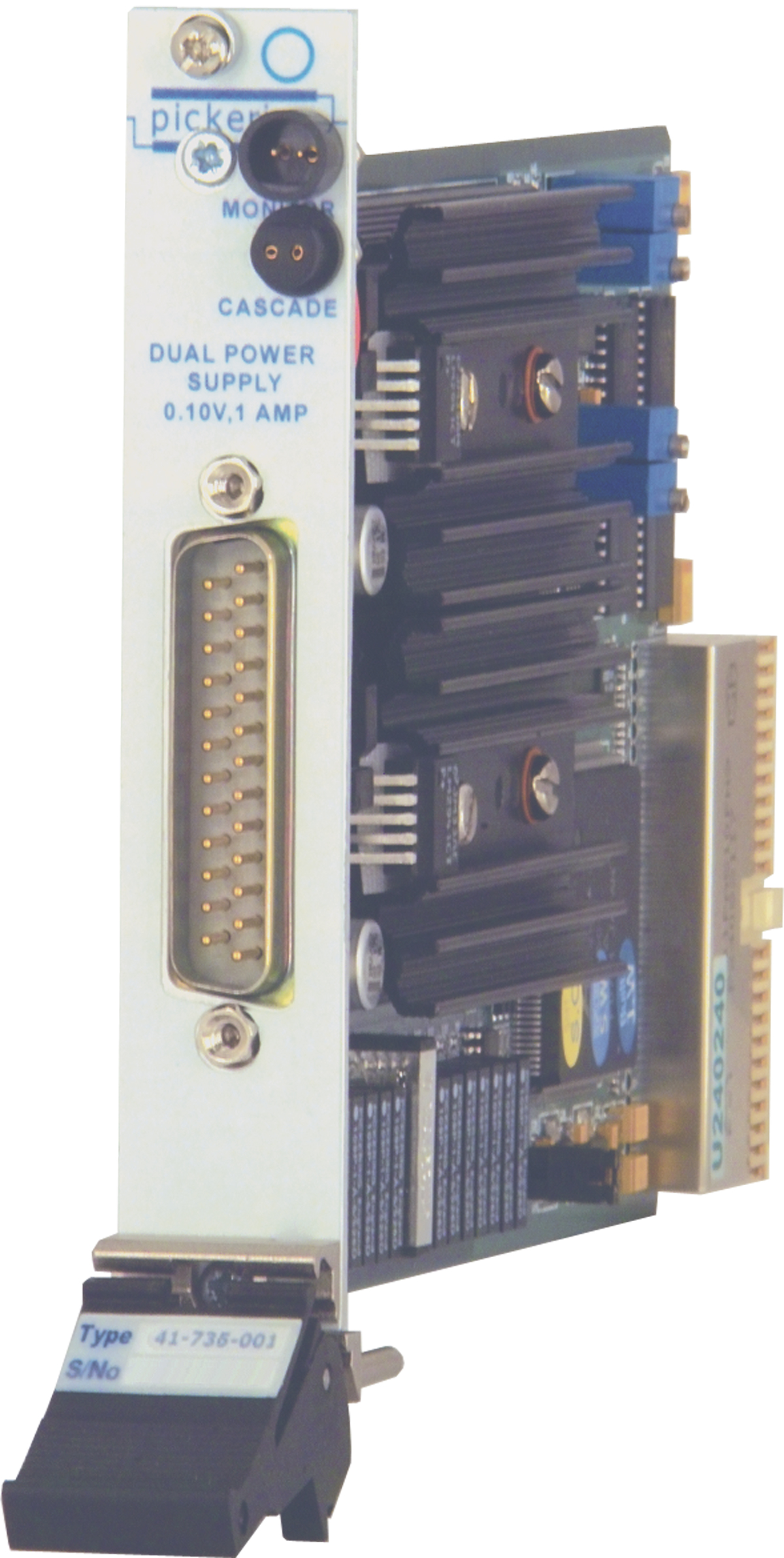Pxi Dual Programmable 10v Power Supply 41 735 001