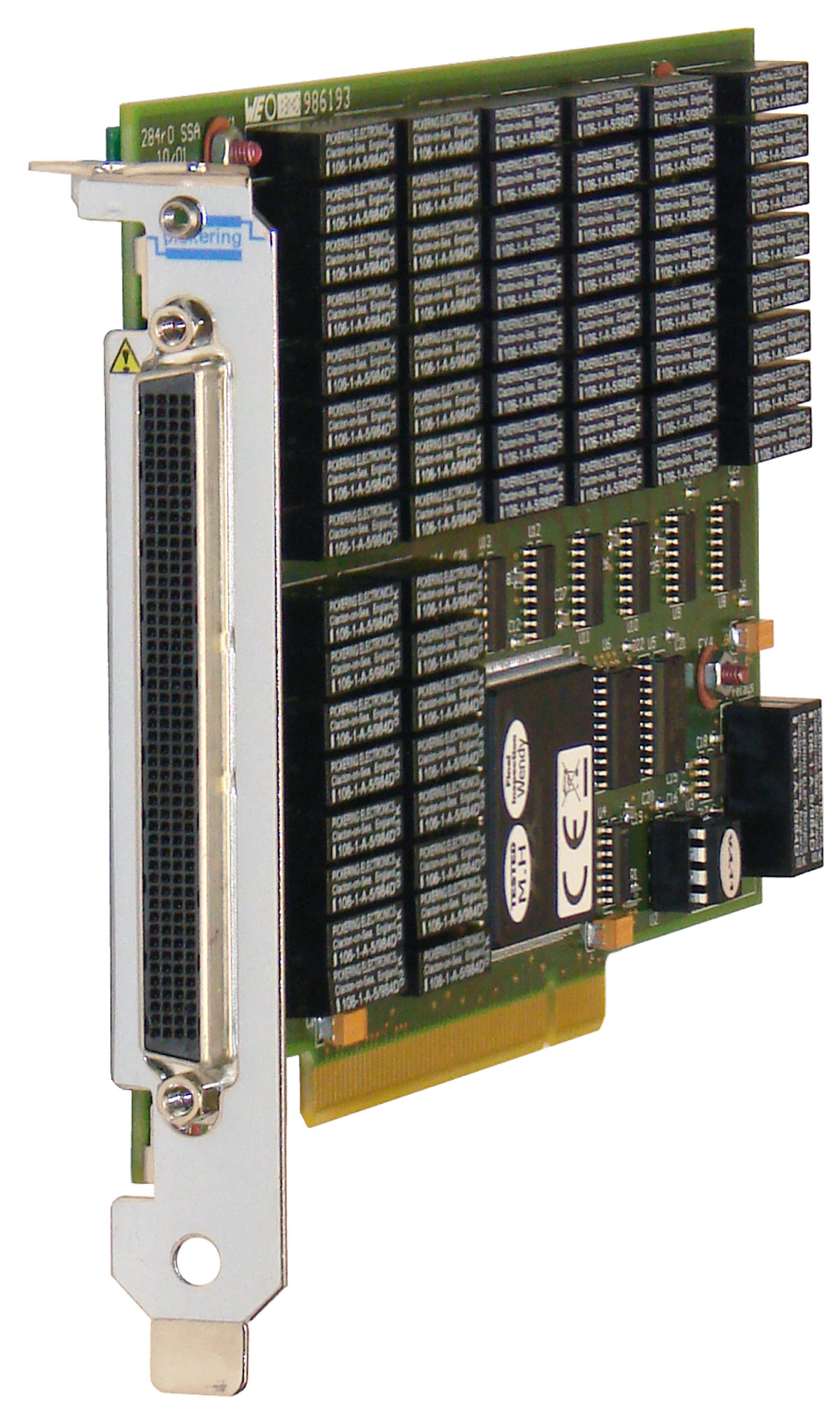 PCI XSPDT Reed Relay Card - Reed relay normally open