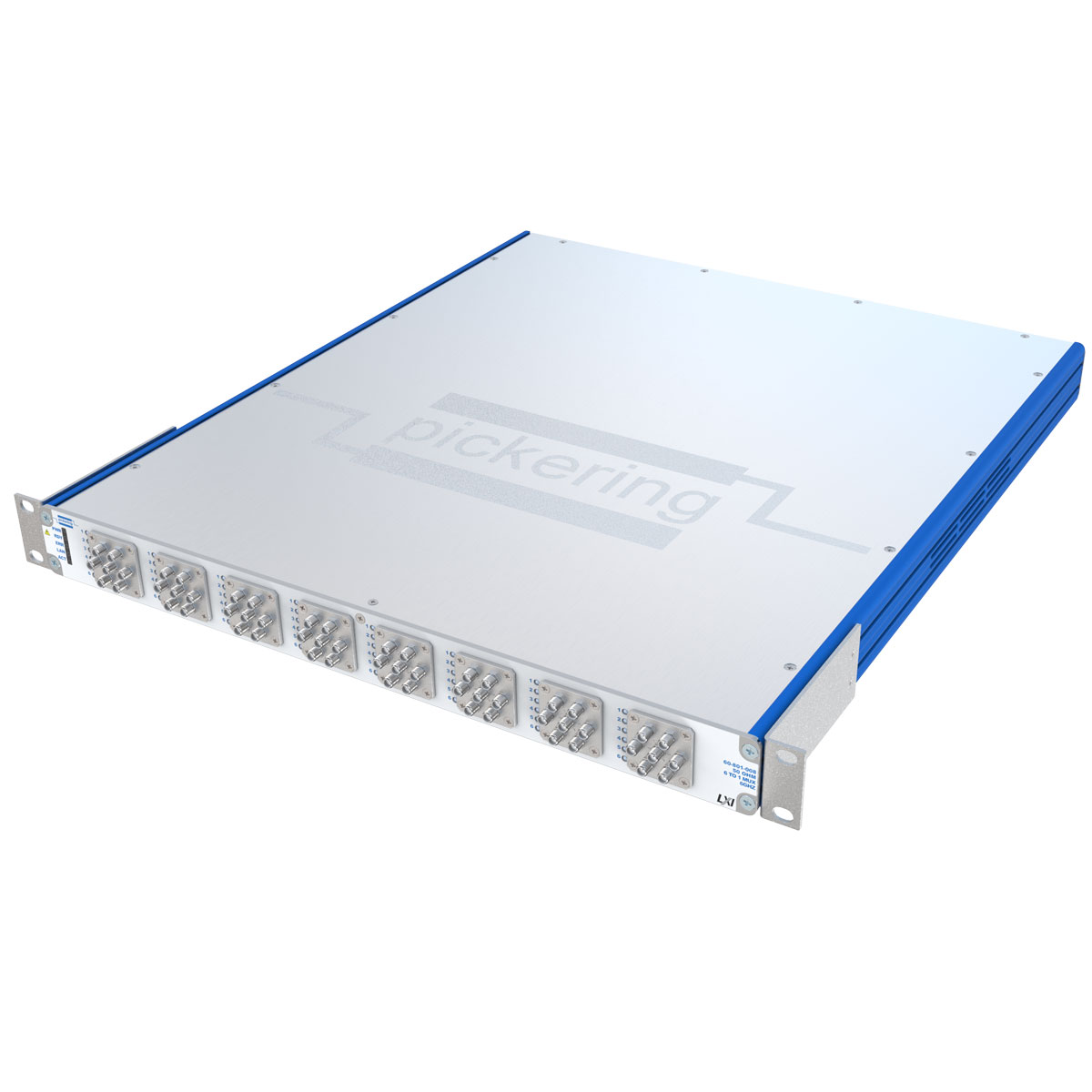 60-801 LXI 6-Channel Microwave Multiplexer