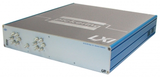LXI Single Bank, 12:1 MUX 75 Ohm 1GHz F-type