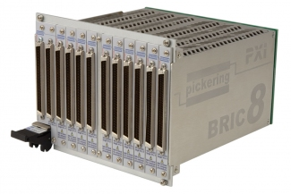 PXI 8 Slot BRIC matrix 484 x 4 (11 sub-cards) - 40-562A-121-484X4