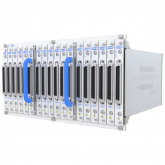 PXI 12-Slot BRIC ultra-high density matrix, 544X16 1-Pole (17 sub-cards) - 40-558-121-544X16