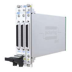 2-slot BRIC ultra-high density PXI matrix, 1-Pole, 64x16 (2 sub-cards) - 40-558-201-64x16
