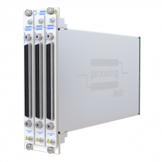 2-slot BRIC ultra-high density PXI matrix, 1-Pole, 128x8 (2 sub-cards) - 40-558-201-128x8