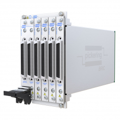 4-slot BRIC ultra-high density PXI matrix, 1-Pole, 84x12 (2 sub-cards) - 40-558-401-84x12