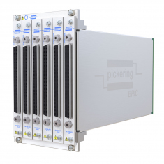 4-slot BRIC ultra-high density PXI matrix, 1-Pole, 256x8 (4 sub-cards) - 40-558-401-256x8