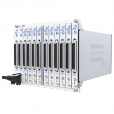 8-slot BRIC ultra-high density PXI matrix, 1-Pole, 378x12 (9 sub-cards) - 40-558-801-378x12
