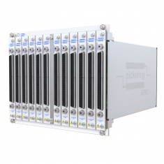 8-slot BRIC ultra-high density PXI matrix, 1-Pole, 576x8 (9 sub-cards) - 40-558-801-576x8