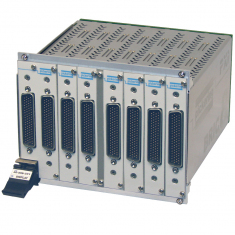 8-slot BRIC large PXI matrix, 1-Pole, 64x16 - 40-559-801-64x16