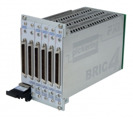 PXI 4 Slot BRIC matrix 66 x 8 (3 sub cards) - 40-562A-021-66X8