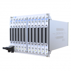 PXI 8-Slot BRIC Matrix, 66x8 2-Pole (3 sub-cards) - 40-562B-122-66X8