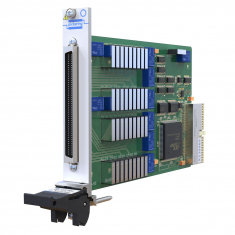 PXI 36 Channel Data Comms MUX, 96-pin SCSI