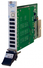 PXI 8-Channel USB Data Comms MUX - 40-737-901