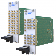 Dual 8 to 1 Terminated 50 Ohm 600MHz PXI RF Multiplexer - 40-763A-002