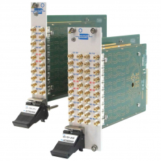 Dual 4 to 1 50 Ohm 600MHz PXI RF Multiplexer