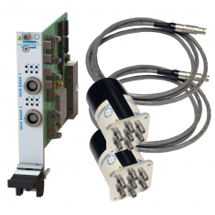 PXI Remote Mount Dual 6-Channel RF MUX 50GHz 50 Ohm SMA Terminated - 40-785B-552-TE