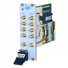 PXI Dual 4 to 1 8GHz MUX, SMA, terminated - 40-882A-002