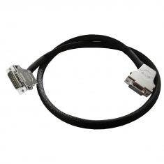 Cable Assy 15-Pin D-Type M/F 0.5m - 40-970-015-0.5m-MF