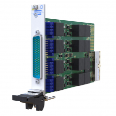 Versatile LVDT/RVDT/Resolver Simulator Module from Pickering Interfaces occupies just one PXI slot
