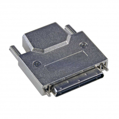 68-Pin VHDCI Connector, Slimline Male With Backshell - C068VMR-6SB-6A