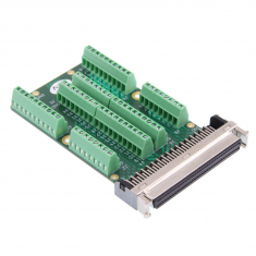 68-Pin SCSI Style Micro-D Connector Block without Backshell, Screw Terminal, Female, 92-965-068-F