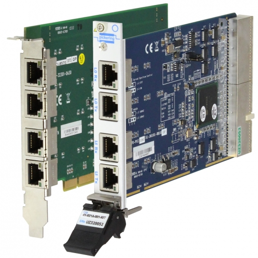 Controlling a PXI Chassis from a PCI PC with our PCI to PXI Remote Control Kit