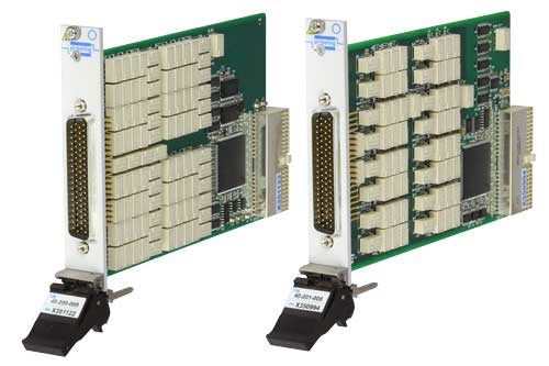 PXI differential fault insertion switch modules