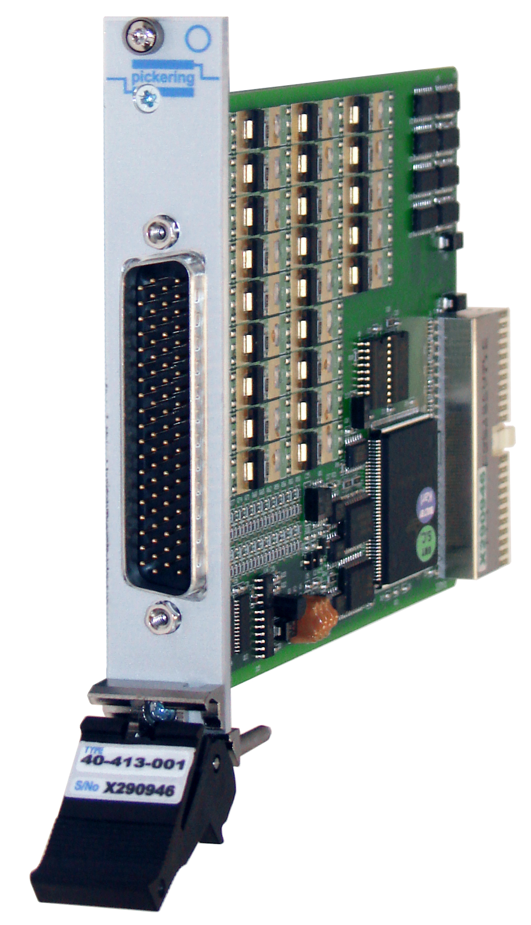 Front panel of PXI card 40-413-001