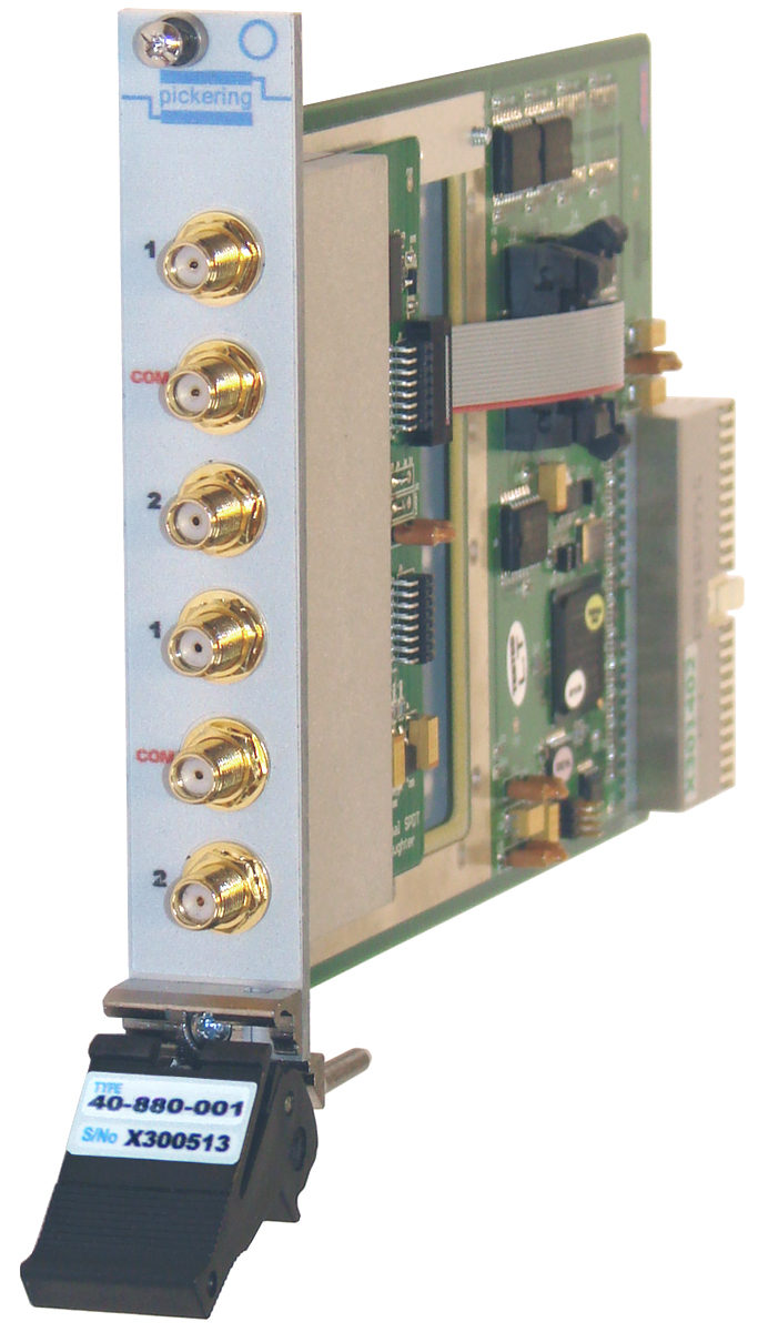 40-880 6GHz MUX using CMOS switches