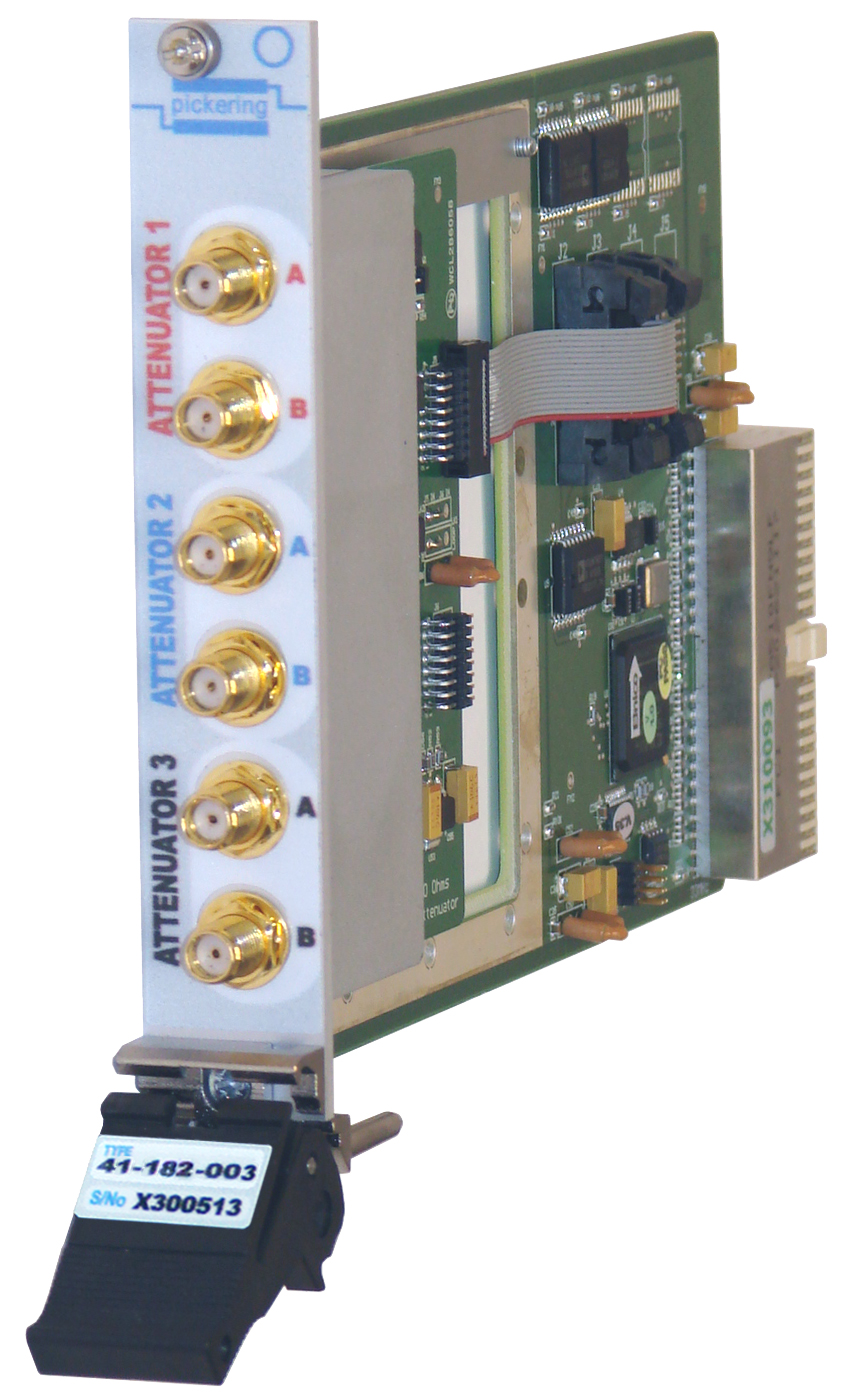 Solid State Rf Switching To 6ghz Switch Attenuator Front View Of 41 182
