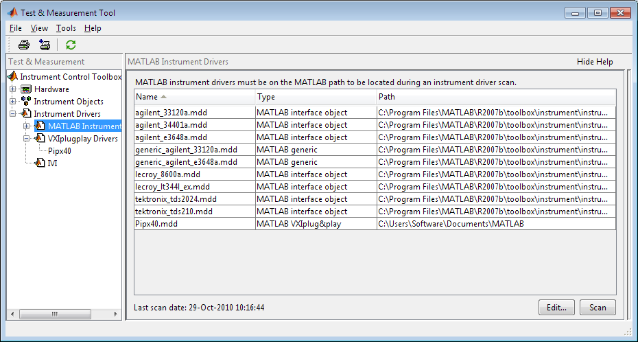 Screenshot of MATLAB with makemid ('pipx40') command entered