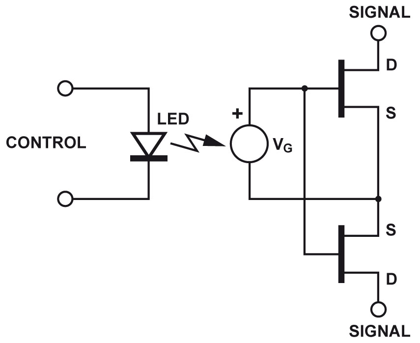 MOFSET Solid State Relay diagram