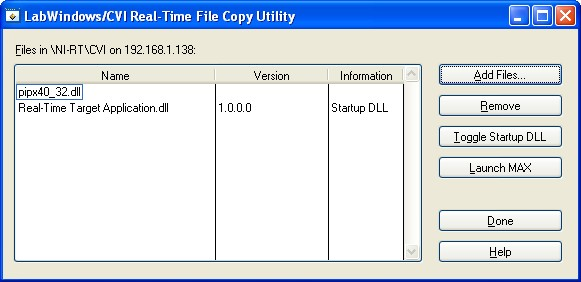 File Copy window showing pipx40_w32.dll